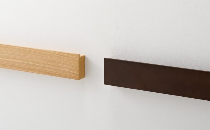 無印良品「壁に付けられる家具」のオシャレな使用例