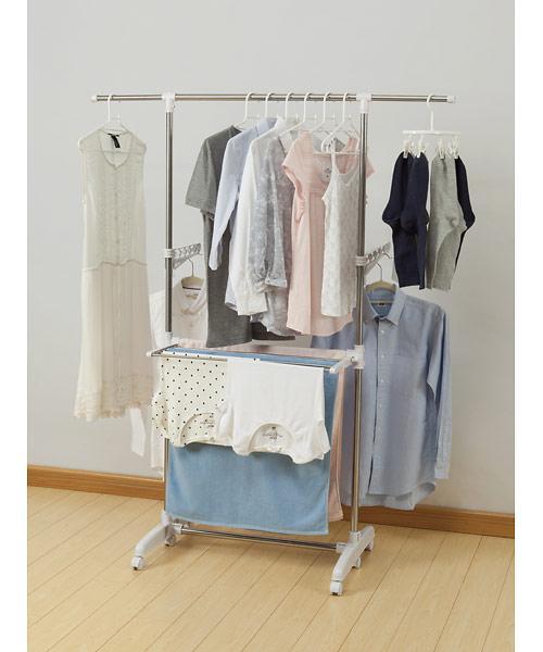 HIBIKI 施工実例. 機能的洗面所収納-使うものが全て収まる可動棚。#